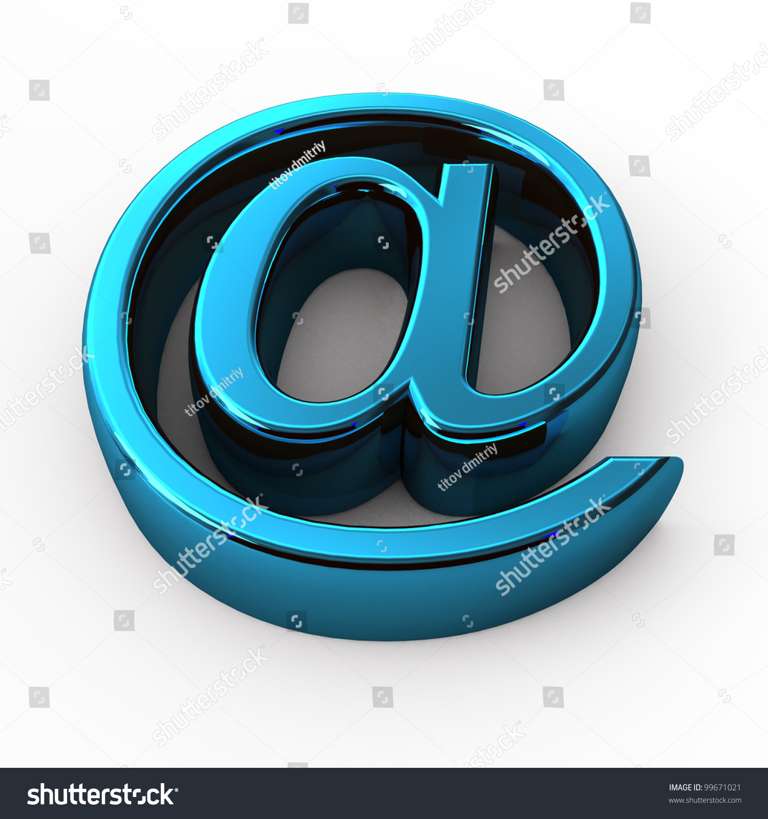 Steel email internet icon 3d isolated stock illustration 99671021 steel e mail internet icon 3d isolated on white background biocorpaavc
