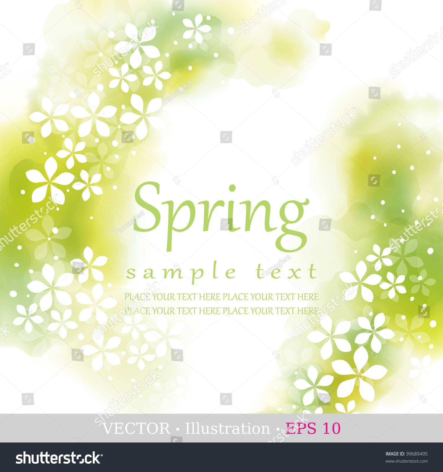 spring four seasons calendar days year stock vector  four seasons calendar days of the year cover of the title page colorful
