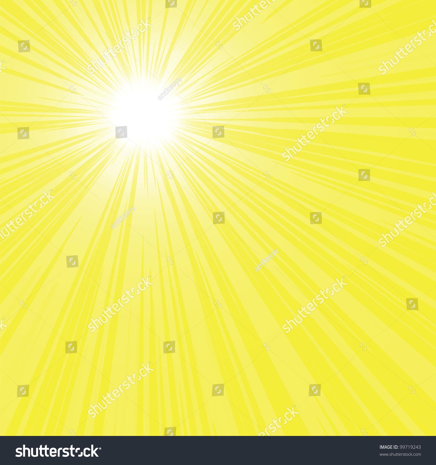 yellow rays vector - photo #38