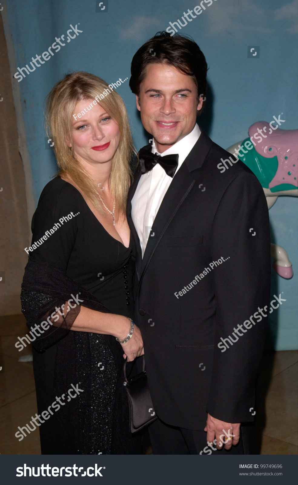 actor rob lowe wife sheryl at the carousel of hope ball. Black Bedroom Furniture Sets. Home Design Ideas