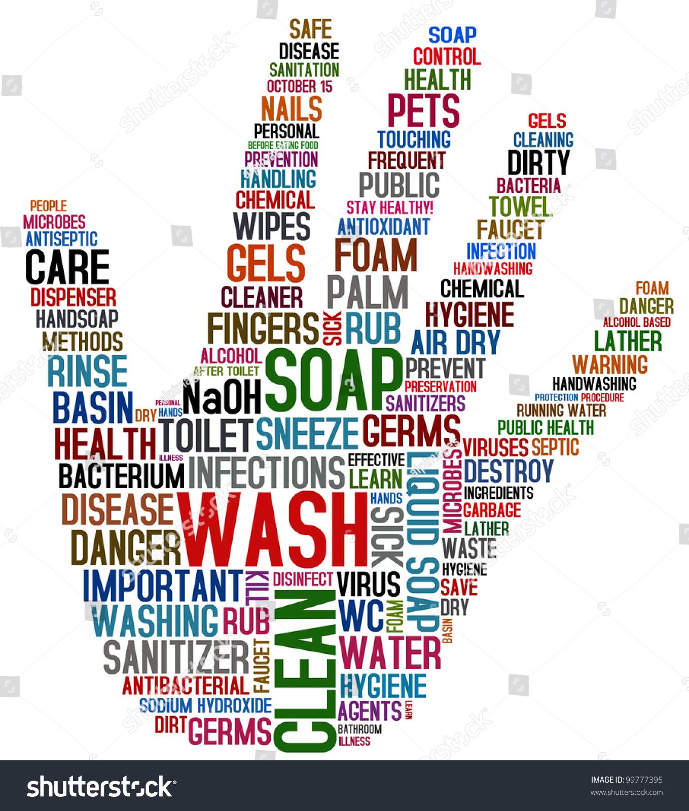 Wash Your Hands Stock Illustration 99777395 - Shutterstock