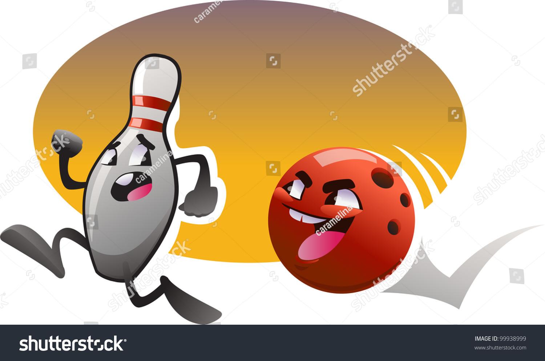 Vector Cartoon Bowling 99938999 Shutterstock
