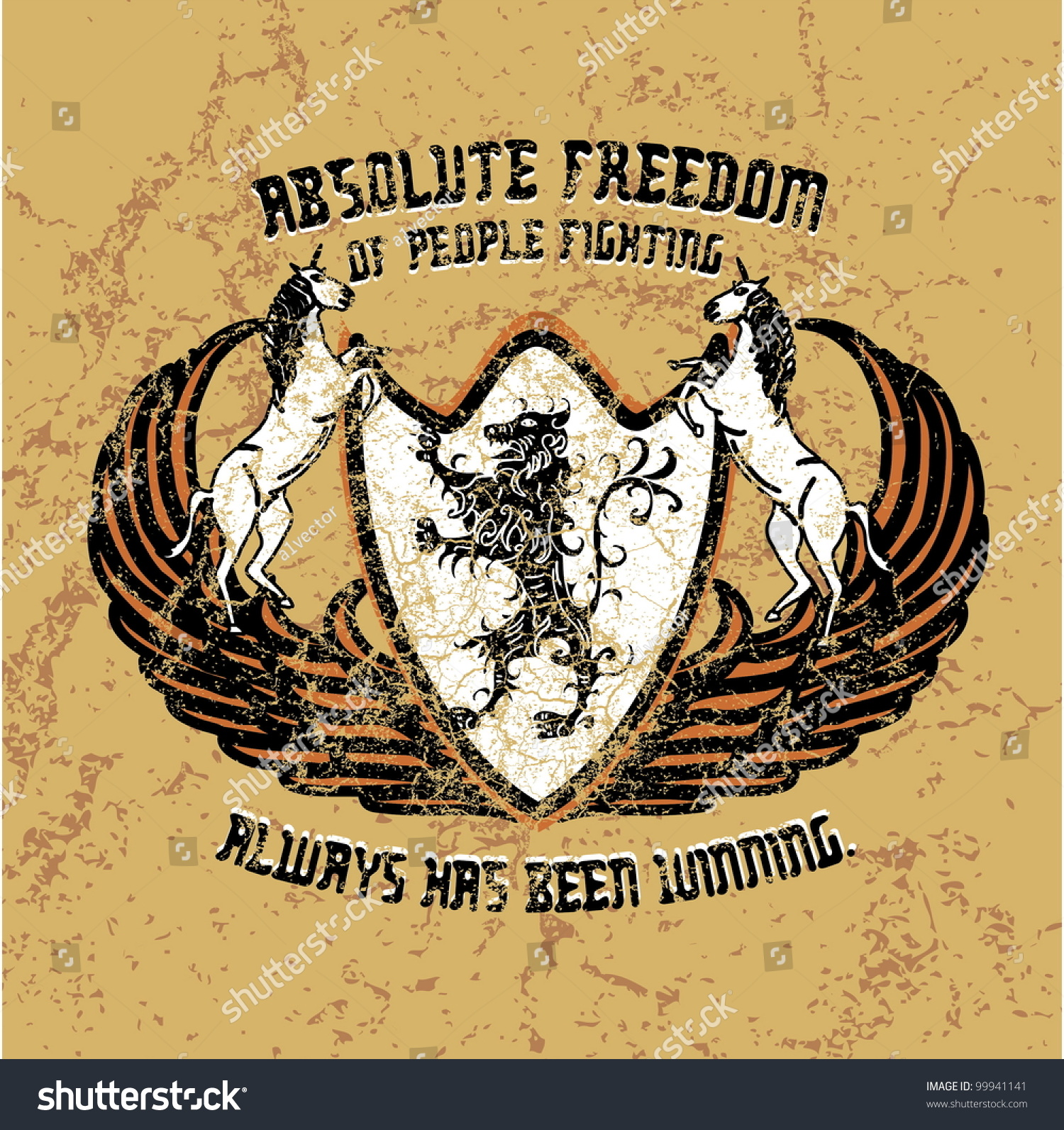Absolute freedom stock vector illustration 99941141 shutterstock - Treehouses the absolute freedom ...
