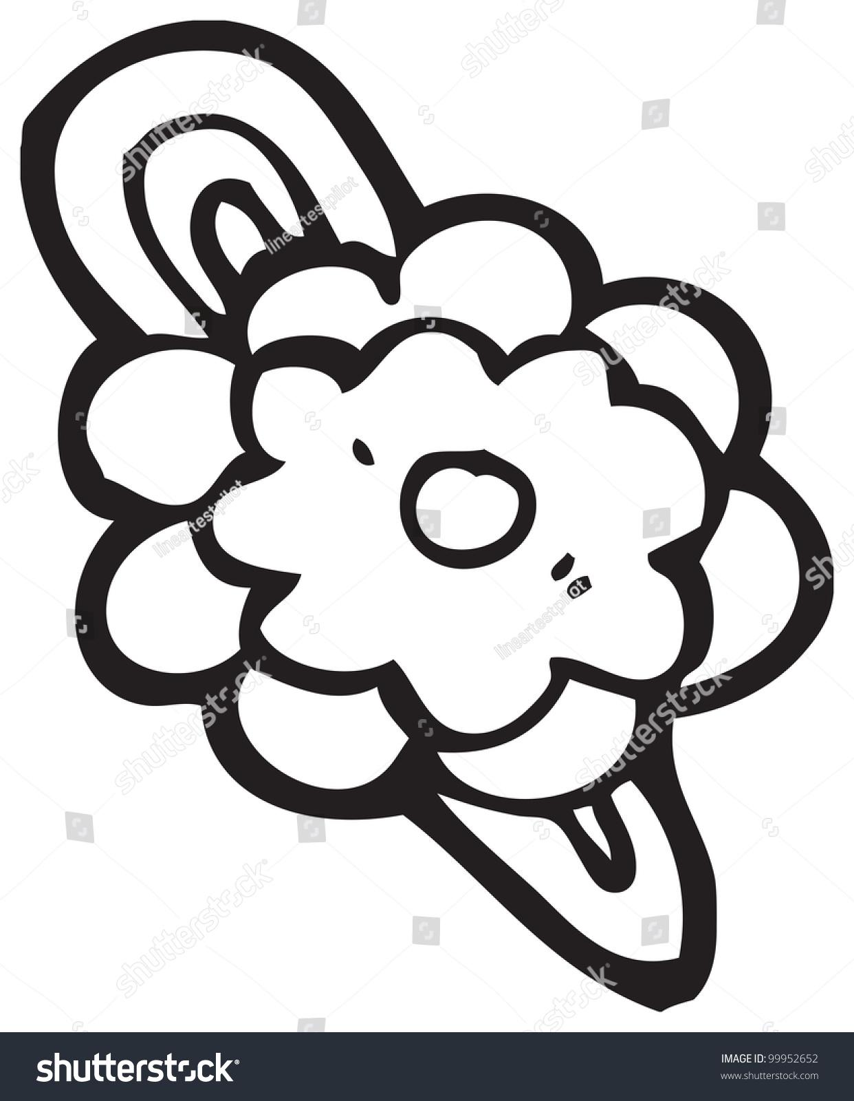 Cartoon Flower Hair Clip Ez Canvas