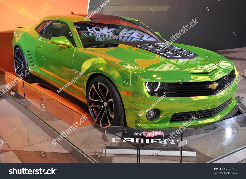 April 11: The Chevy Camaro Concept Car (Hot